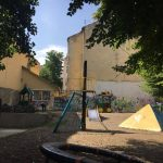 Чернівчан запрошують розмалювати стіни дитячого майданчика на Адама Міцкевича