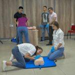 Чернівчан навчали, як надавати першу допомогу дітям в екстрених ситуаціях