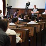 Депутати розпочали таємне голосування за припинення повноважень мера Олексія Каспрука. Відео