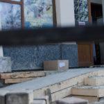 Біля кінотеатру «Чернівці» облаштовують пандус