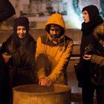 Спогади про Майдан. Студенти УАЛу влаштували атмосферну зустріч на Центральній площі