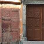 У Чернівцях відновили старих дверей та брам на понад мільйон гривень
