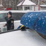 Під час новорічних святкувань чернівецькі патрульні виявили 14 п'яних водіїв