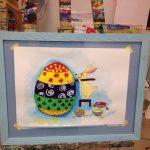 Маленькі учні студії мистецтв «МонмАРТр» намалювали тематичні картини до Великодня