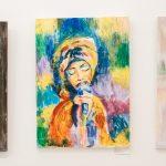 Понад 300 творів живопису. У «Вернісажі» триває виставка юних дизайнерів. Фото