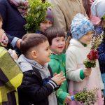 Як православні і греко-католики Чернівців святкували вербну неділю. Фото