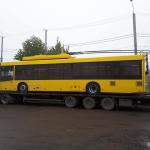 ЧТУ отримало нові тролейбуси з Дніпра