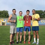 Буковинські легкоатлети стали чемпіонами України з естафетного бігу