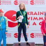 Чернівчанка Емілія Пижик виборола 9 медалей на Лізі плавання України