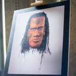У Чернівцях відкрили виставку фотокарток традиційних масок народів Австралії. Фото