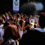 Як у Чернівцях посвячували в першокурсники студентів ЧНУ. Фото