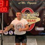 Буковинський гирьовик виграв два «золота» на турнірі в Лас-Вегасі