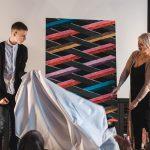 У Чернівцях відкрили виставку однієї картини художника з аутизмом Данила Гулька. Фото
